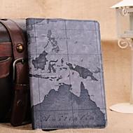 Fashion Retro Nautical Maps PU Cases with Stand for iPad mini 2