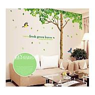 seinä tarroja Seinätarrat, tyyli suuri puu pvc seinä tarroja