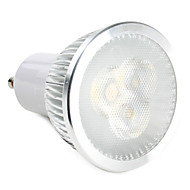 GU10 6W 3 High Power LED 310 LM Warm White / Natural White LED Spotlight AC 220-240 V