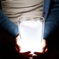 zarten weißen Milchschalenform LED-Nachtlicht