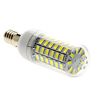 E14 15W 69 SMD 5730 1500 LM Natural White T LED Corn Lights AC 220-240 V
