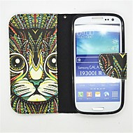 The King Of The Forest Pattern PU Leather Full Body Case with Card Slot and Stand for Samsung S3 I9300