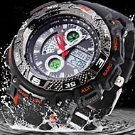 resistente à água borracha militar analógico-digital relógio esportivo de exibição dos homens (cores sortidas)