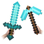 Minecraft Blue Diamond EVA Foam Sword & Pickaxe Set (2pcs)