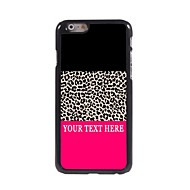 Personalized Phone Case - Leopard Print Design Metal Case for iPhone 6