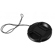 KUSHOP NK-52MM 52mm Lens Cap for Nikon D40 D3200 D60 D5300 D3300 D5100 18-55  with Holder Leash Strap