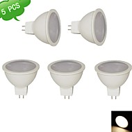 DUXLITE® 5PCS MR16 9W 3000K Warm White CRI>80 810LM (=Incan 75W+) 15x3020SMD GU5.3  LED Spot Light AC/DC 12V