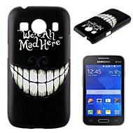 For Samsung Galaxy etui Mønster Etui Bagcover Etui Sort og hvid PC Samsung Ace Style LTE