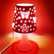 25W førte carving stil duft dæmpning plug-in lille nat bordlampe 220v (assorterede farver)