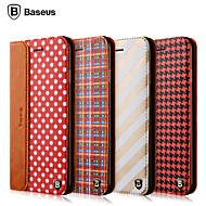 Baseus®Luxury High Quality Mix and Match PU Material Cover Case for iPhone 6S Plus/6 Plus(Assorted Colors)
