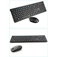 DANLU X100 Wireless 2.4GHz Mini 1600 Chiclet Keys Gaming Keyboard & Mouse Combos