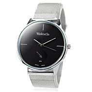 Women's Fashion Big Dial Steel Belt Guartz Wrist Watch(Assorted Colors)