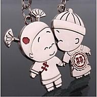 pár Romantická svatba klíčenka klíčenka pro milenec den svatého Valentýna (jeden pár)