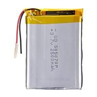 505070P 3.7V 2500mAh  Li-polymer Battery