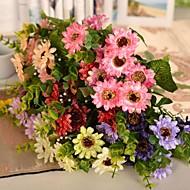 """12.9 """"l set van 1 natuurlijke wilde daisy zijden doek bloemen"""