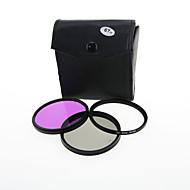 Lots de filtres - Canon/Nikon/Sony/Fujifilm/Pentax - 600D/550D/500D/D5100/D3100/D3000/D80/40D/D700/7D/50D - 67