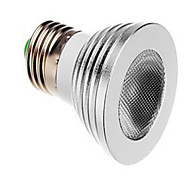 5W E26/E27 LED okrugle žarulje 3 SMD lm Može se prigušiti / Na daljinsko upravljanje AC 85-265 V 1 kom.