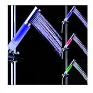 Teig freie Farbwechsel LED verchromt Handbrause