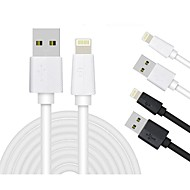 LP MFi Certified Lightning 8 Pin Data Sync and Charger USB Cable for iphone6 6plus 5s 5c 5 ipad Cable