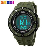 Montre de Sport Plastique (LCD/Calendrier/Chronographe/Résistant à l'eau/penggera) Numérique - Quartz pour Homme