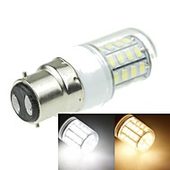 B22 7W 40x5630SMD 1600LM 3500K 6000K Warm White/Cool White Decorative Corn Bulbs  AC110-240V