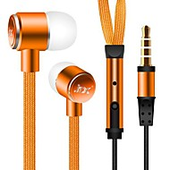 3.5mm Waterproof Noise-Cancelling in-ear Earphone for Iphone and Other Phones