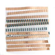 diy 10ω ~ 1mω kleur ring weerstanden pakket (20x20pcs)