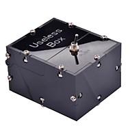 NEJE Mini Useless Fully Assembled Machine Box Toy Leave Me Alone Box Black