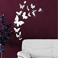Dieren / 3D Wall Stickers Spiegel muurstickers Decoratieve Muurstickers,PS Materiaal Verwijderbaar Huisdecoratie Muursticker