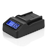 Lcd Universal Battery Charger for  LP-E6 Battery 1pcs