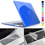 "Hat-Prince Crystal HD Hard Protective PC Full Body Case and Keyboard Film for MacBook Air 11.6"" / 13.3"" (Assorted Colors)"