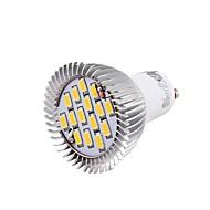 Focos LED Decorativa YouOKLight GU10 3W 15 SMD 5630 700 LM Blanco Cálido AC 85-265 V 1 pieza