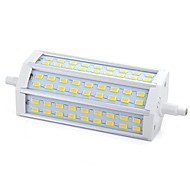 Dimmable R7S 15W 54xSMD 5730 1200LM 3000K Warm White Light LED Corn Bulb(AC 220-240V)