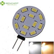 G4 GZ4 MR11 6W 12x5730/5630SMD LED 450LM 3500K 6000K  Warm White/Cool White LED Spot Lights Light Bulb  DC/AC 9-36V