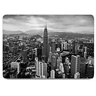 la ciudad en el diseño gris de cuerpo completo caja de plástico protectora para el de 11 pulgadas / 13 pulgadas de aire nuevo macbook