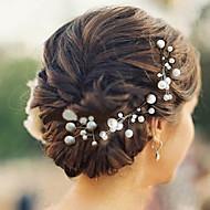 Γυναικείο Κορίτσι Λουλουδιών Μαργαριταρένια Headpiece-Γάμος Ειδική Περίσταση Καθημερινά Καρφίτσα Μαλλιών