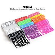 LENTION Soft Durable Silicone Keyboard Cover Skin for Macbook Air Macbook Pro 13/15/17