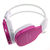 WST-365 Sports Style MP3 Headphone Earphone Headset with FM Radio Supports Micro SD/TF Card