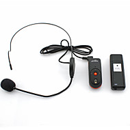 OXLasers OX-304 Mini Portable USB Headset 2.4GHz Wireless Microphone for Conference and Teacher