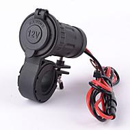 motorsykkel bil vanntett stikkontakt adapter 12v / 24v