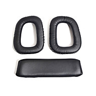 Soft Replacement Ear Pads Cushions & Headband Cushion for Logitech G35 G930 G430 F450 Headphones