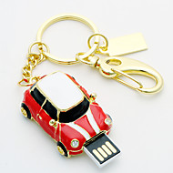 8gb metallo stile auto usb flash drive (colori assortiti)