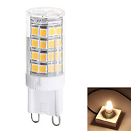 G9 3.5W 350lm 3000k / 6000k 51-SMD 2835 LED Warm White / Natural White Light LED Ceramic Corn Bulbs (AC200V)