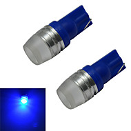 JIAWEN® 2pcs T10 1.5W 90LM Blue Light  Side Maker Lamp LED Car Light (DC 12V)