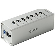 ORICO A3H7-BK High Speed 7-Port USB 3.0 Hub w/ LED Indicator - Black