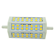 R7S 9W 48 LED 850lm 2800-6500K  118mm 5050 SMD Warm White and Cold White Bulb Lamps Floodlight Spotlight AC 85-265V