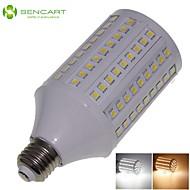 E26 25W 138x5050SMD 2200LM 3500K 6000K  Warm White/Cool White Light LED Corn Bulb AC85-265V