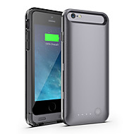 Ifans ® mfi 3100mah iphone 6 batteri case ekstern flyttbar backup-strøm lader tilfelle for iphone 6 (assorterte farger)