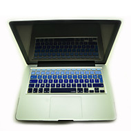 """Coosbo® French AZERTY Colorful Silicone Keyboard Cover Skin for 11.6""""/13.3""""/15.4""""/17"""" Mac Macbook Air Pro / Retina"""