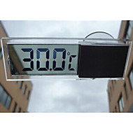transparente lcd termômetro carro otário termômetro é adequado para estacionamento interior casa de dupla utilização